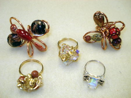 Beg. Wire Rings