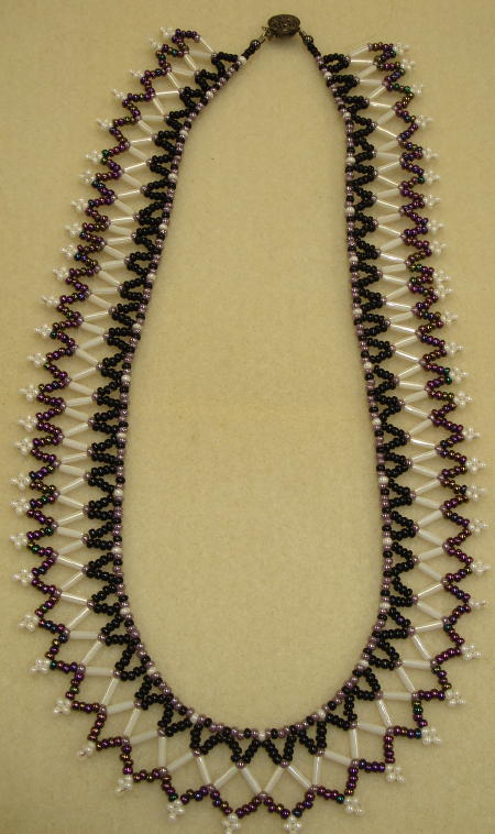 Beginning Netting Necklace