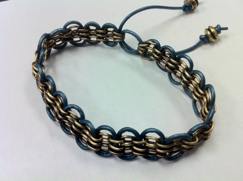 Chain Waves Bracelet
