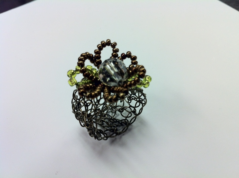 Crochet Cocktail Ring