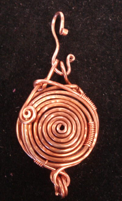Spiral Wire Locket